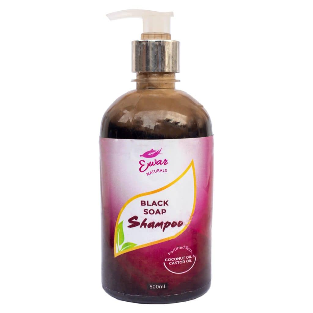 ewaronke black soap shampoo