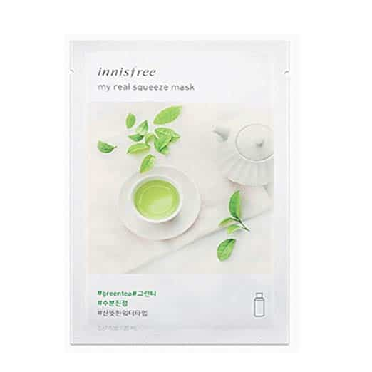 Innisfree My Real Squeeze Mask Sheet Green Tea